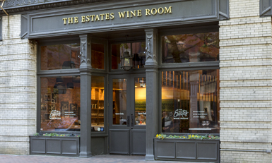 The Estates Wine Room Exterior